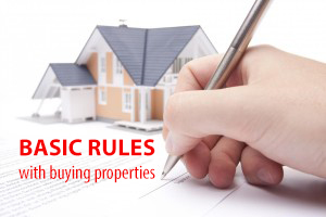 how to buy a house - basic rules - real estate sales llc