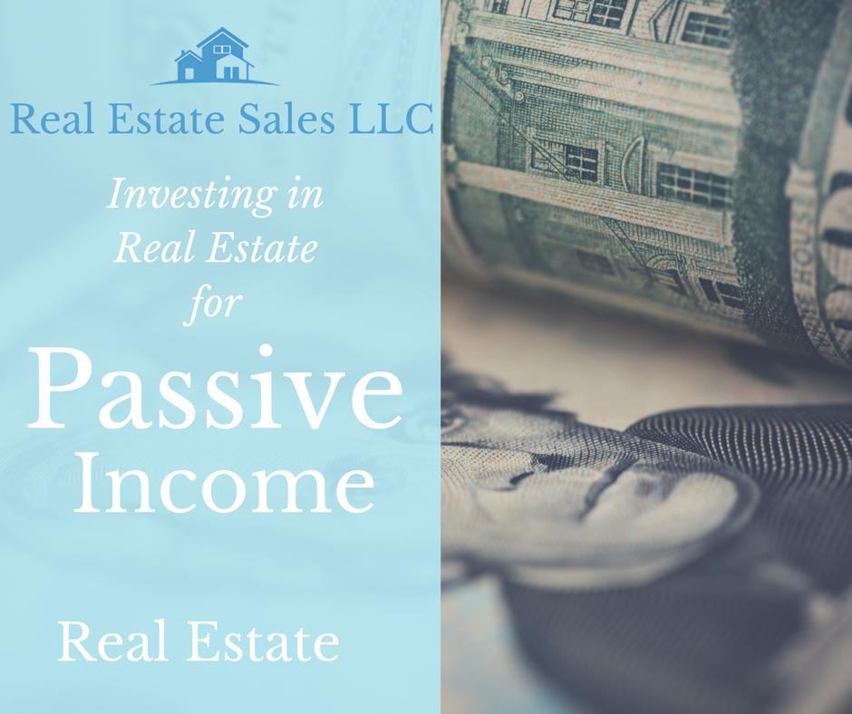 Investing in real estate for passive income